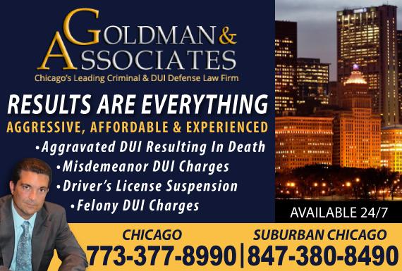 Exclusive Ad: Goldman & Associates Chicago 8472152600 Logo