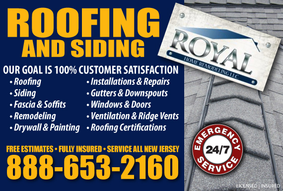 Exclusive Ad: Royal Remodeling LLC Elizabeth 8886532160 Logo