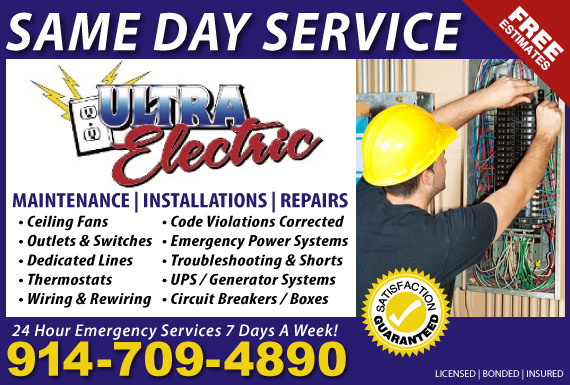 Exclusive Ad: Ultra Electric Jefferson Valley 9176201662 Logo