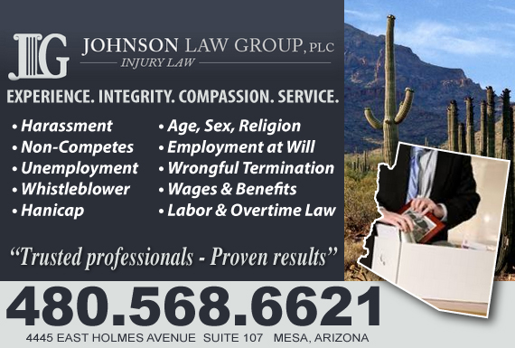 Exclusive Ad: Employment Law Mesa 4805934686 Logo