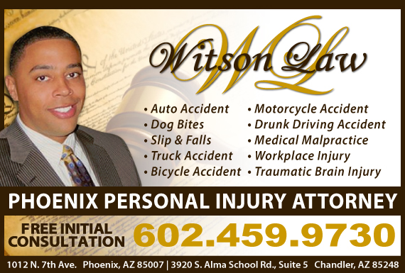 Exclusive Ad: Witson Law, P.C. - Car Accidents Phoenix 6023588686 Logo