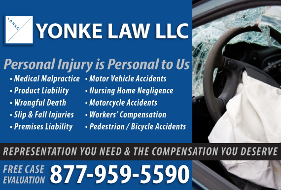 Exclusive Ad: Yonke Law, LLC - PI/Car Kansas City 8162216400 Logo