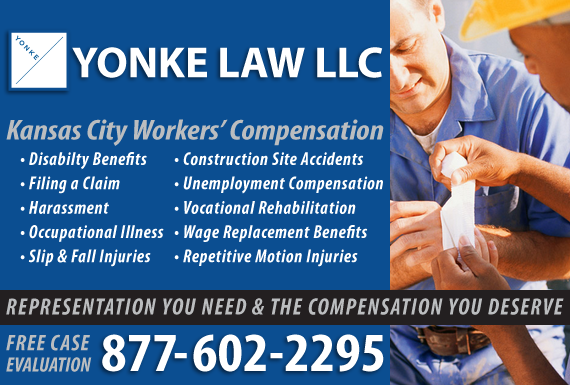 Exclusive Ad: Yonke Law, LLC - WC Kansas City 8162216400 Logo