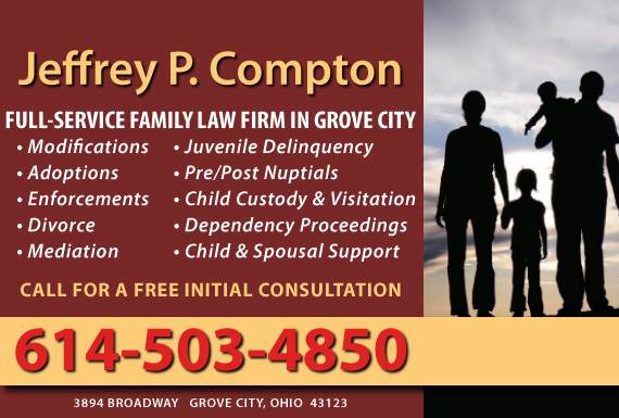 Exclusive Ad: Jeffrey P. Compton Grove City 6148757233 Logo