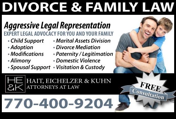 Exclusive Ad: Family Law Alpharetta  Logo