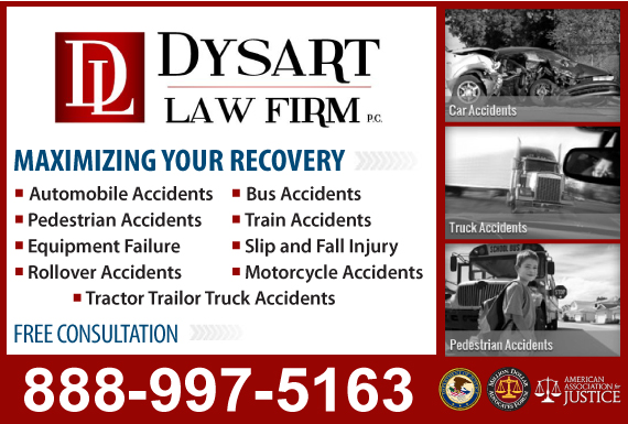 Exclusive Ad: Dysart Law Firm Chesterfield 3145486298 Logo