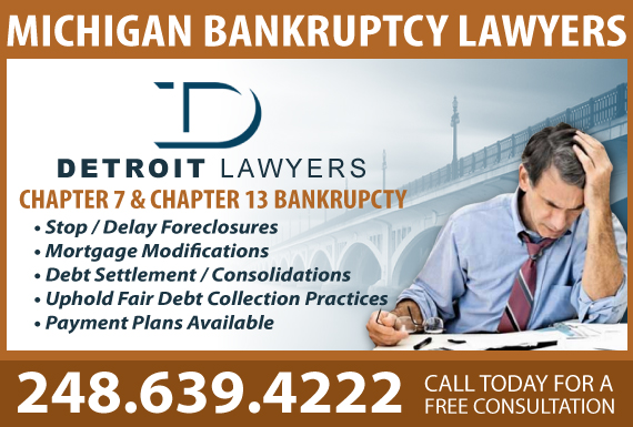 Exclusive Ad: Detroit Lawyers PLLC Huntington Woods 2482377979 Logo