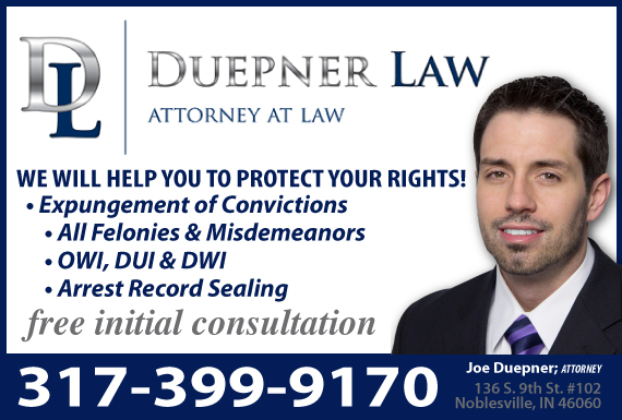 Exclusive Ad: Criminal Law & DUI Noblesville 3174500044 Logo