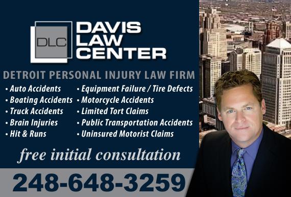 Exclusive Ad: Davis Law Center Farmington Hills 2488657740 Logo