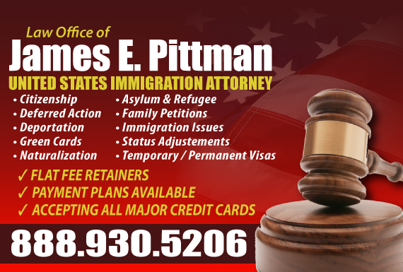 Exclusive Ad: Law Office of James E. Pittman Philadelphia 2157721818 Logo