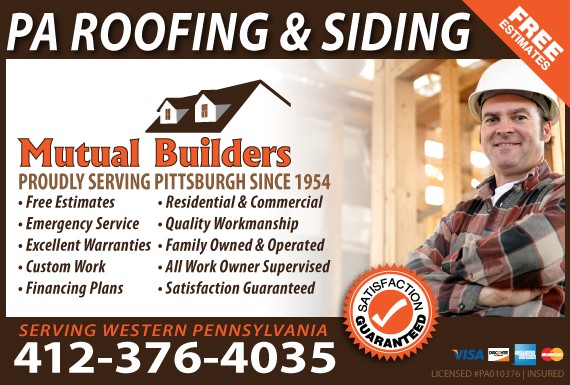 Exclusive Ad: Mutual Builders Corp. Pittsburgh 4124786526 Logo