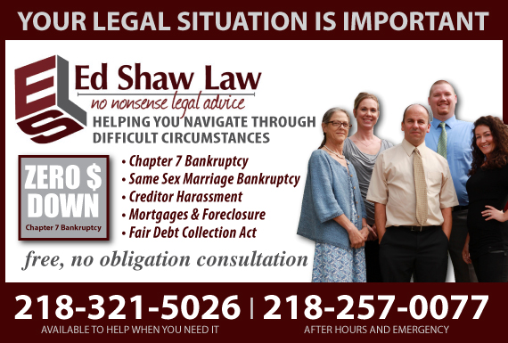 Exclusive Ad: Shaw Law Offices - All Other Cats  2182513217 Logo