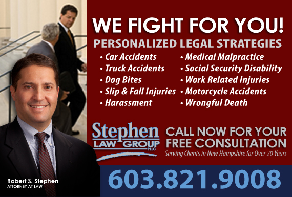 Exclusive Ad: Stephen Law Group PLLC  Manchester 6036631007 Logo