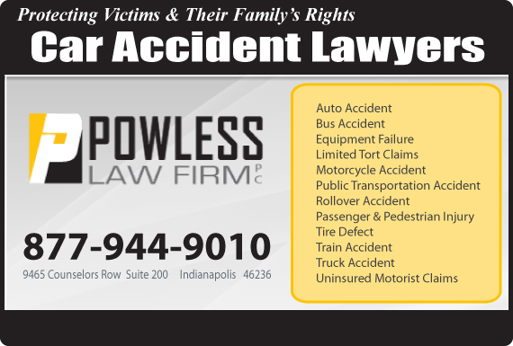 Exclusive Ad: Car Accidents Indianapolis 8777695377 Logo