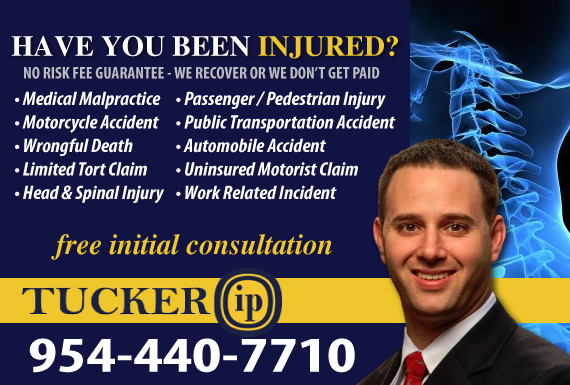 Exclusive Ad: Tucker IP Law Fort Lauderdale 9542040444 Logo