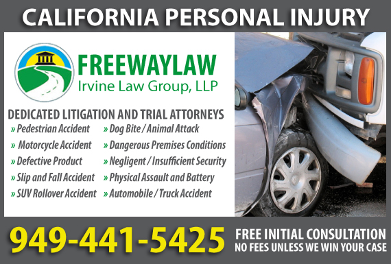 Exclusive Ad: Irvine Law Group, LLP PI Irvine 9492291035 Logo