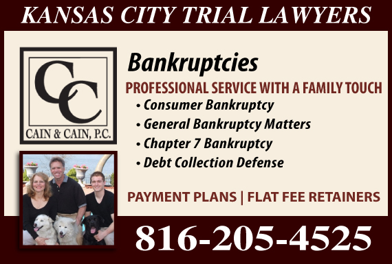 Exclusive Ad: Cain & Cain, P.C. - bankruptcy Lees Summit 8167957714 Logo