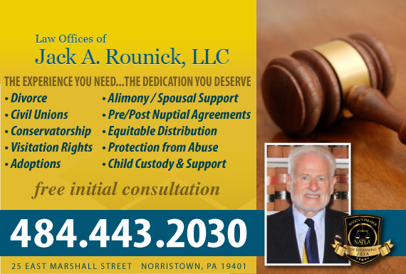 Exclusive Ad: Law Offices of Jack A. Rounick, LLC Norristown 4846846055 Logo