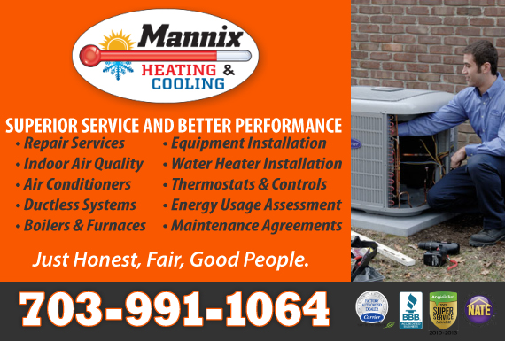 Exclusive Ad: Heating & Cooling Chantilly 7037779211 Logo