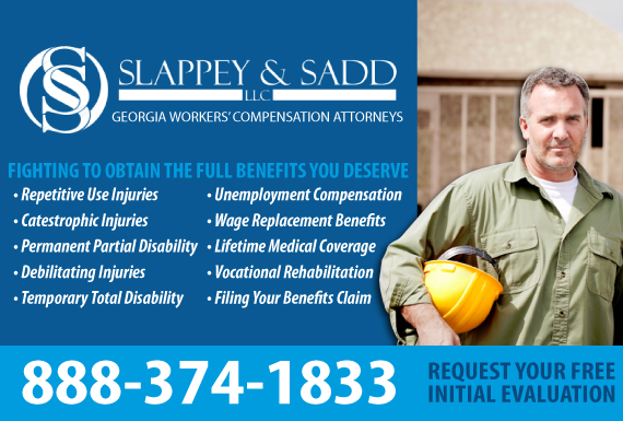 Exclusive Ad: Slappey & Sadd, LLC Atlanta 4042556677 Logo