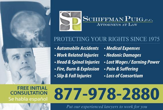 Exclusive Ad: Schiffman Puig, P.C. - Personal Injury Phoenix 6022662667 Logo