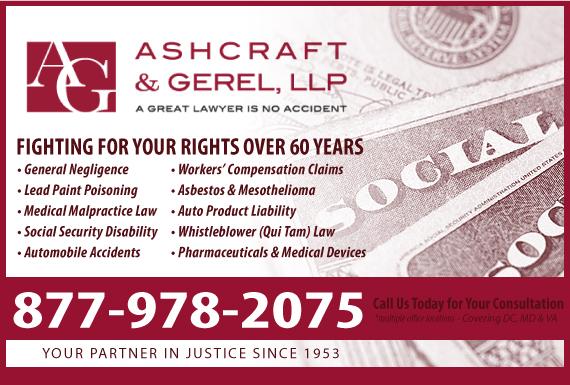 Exclusive Ad: Ashcraft & Gerel LLP - SSD Washington 2027836400 Logo