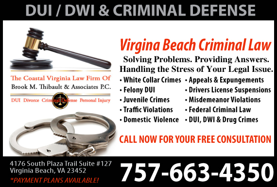 Exclusive Ad: Family Law / Criminal Law Virginia Beach 7572267680 Logo