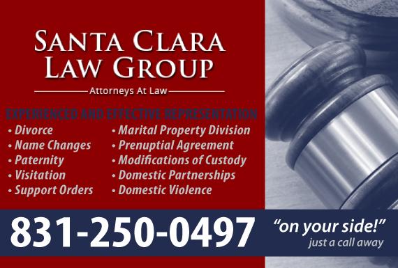 Exclusive Ad: Santa Clara Law Group Capitola 8314666766 Logo