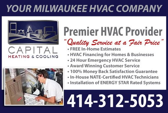 Exclusive Ad: Capital Heating and Cooling Menomonee Falls 4143844822 Logo
