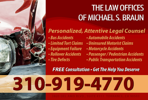 Exclusive Ad: The Law Office of Michael S. Braun Torrance 3109843220 Logo