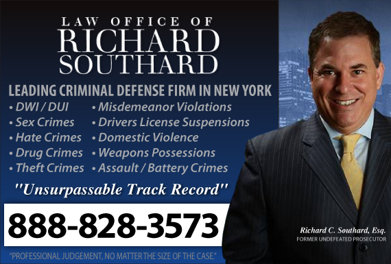 Exclusive Ad: Law Office of Richard Southard New York 2123858600 Logo