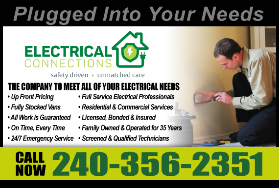 Exclusive Ad: Electrical Connections LLC Gaithersburg  Logo