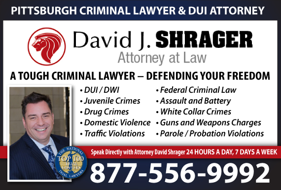 Exclusive Ad: Shrager Defense Attorneys Pittsburgh 4129692540 Logo