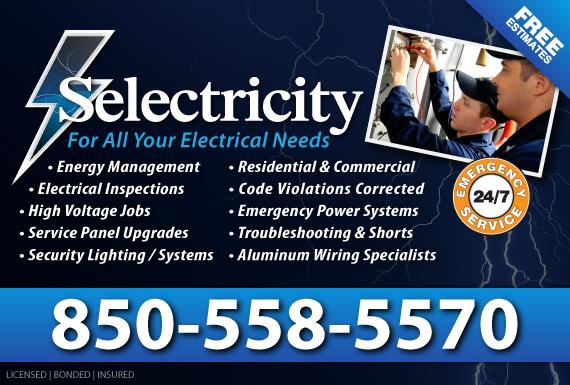 Exclusive Ad: Selectricity Pensacola  Logo