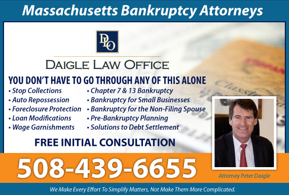 Exclusive Ad: Daigle Law Office Norwell 5087717444 Logo