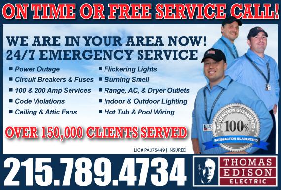 Exclusive Ad: Thomas Edison - Montgomery County Ambler 2675364668 Logo
