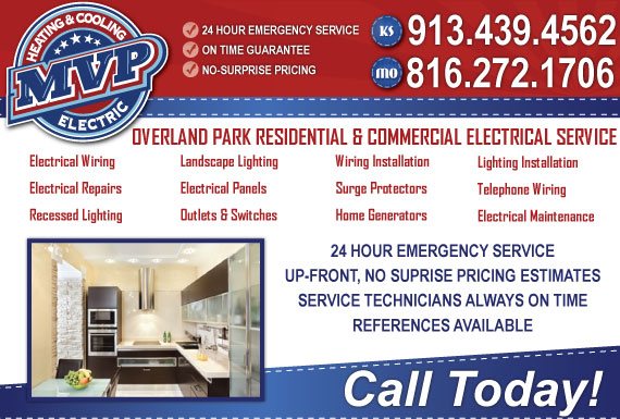 Exclusive Ad: MVP Electric, Heating & Cooling - MO Kansas City 8162873660 Logo