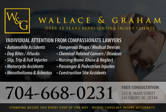 Exclusive Ad: Personal Injury Salisbury 7046335244 Logo