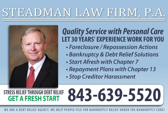 Exclusive Ad: Steadman Law Firm Charleston 8435291100 Logo