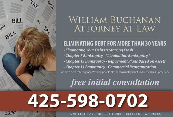 Exclusive Ad: Bankruptcy Bellevue 4252830336 Logo