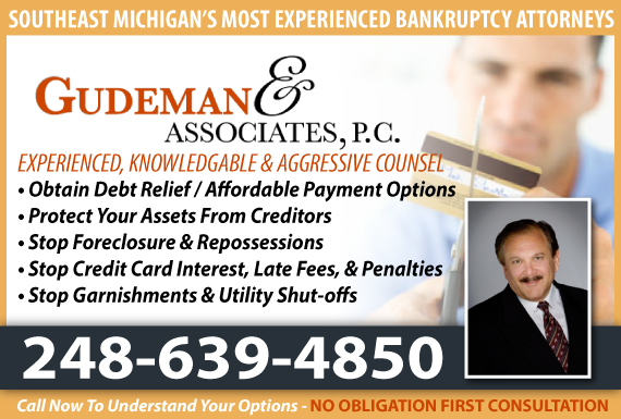 Exclusive Ad: Gudeman & Associates, P.C. Royal Oak 2485462800 Logo