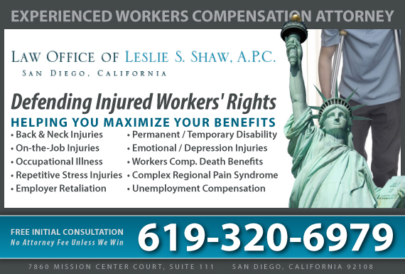 Exclusive Ad: Law Office of Leslie S. Shaw, A P.C. San Diego 6196832346 Logo