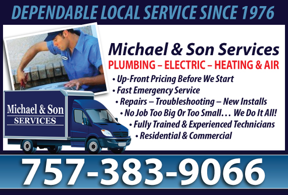 Exclusive Ad: HVAC - Norfolk Chesapeake 8044778006 Logo