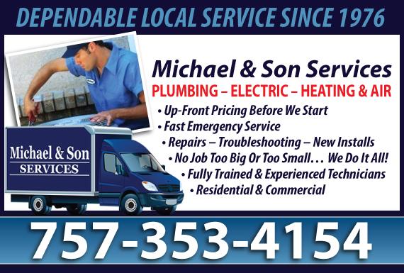 Exclusive Ad: Electric - Norfolk Chesapeake 8044778006 Logo