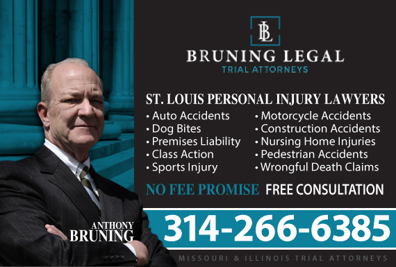 Exclusive Ad: Bruning Legal Saint Louis 3148983078 Logo