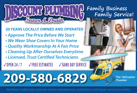 Exclusive Ad: Plumbing Manteca 2092393550 Logo