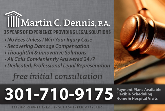 Exclusive Ad: Personal Injury / Auto Accidents Dunkirk 3014666808 Logo