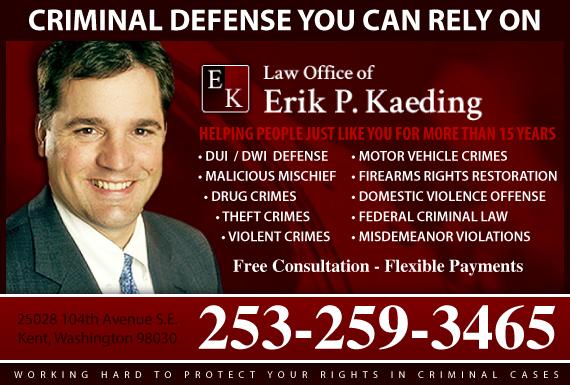 Exclusive Ad: Law Office of Erik P. Kaeding Kent 2538508430 Logo