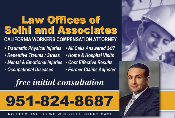 Exclusive Ad: Law Offices of Solhi and Associates Corona 9518588007 Logo