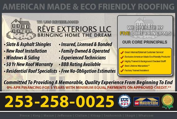 Exclusive Ad: Reve Exteriors LLC - Kent Kent 2532700742 Logo